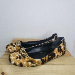 Celine calf fur Flats